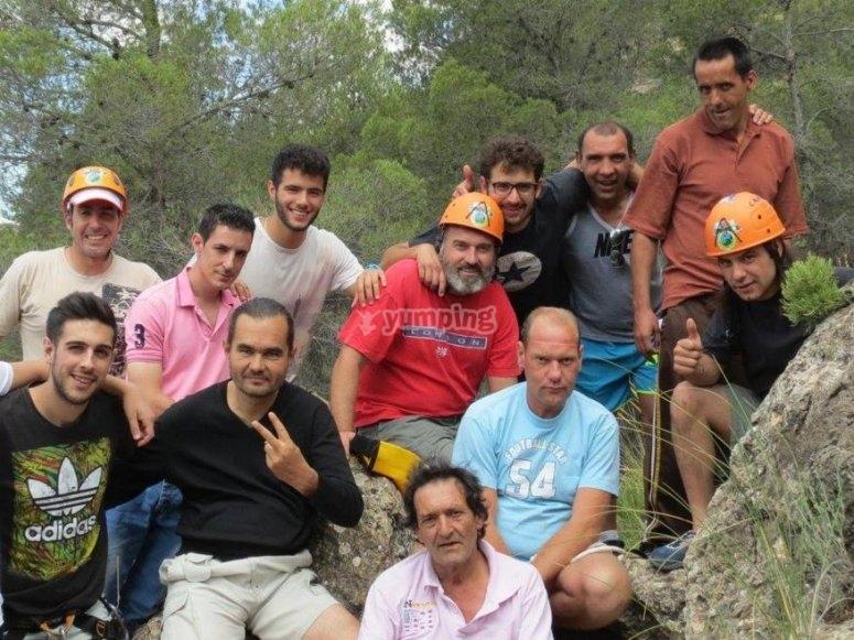Grupo de escalada