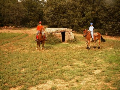 3-hour horse riding trip in Guilla de Ruixou