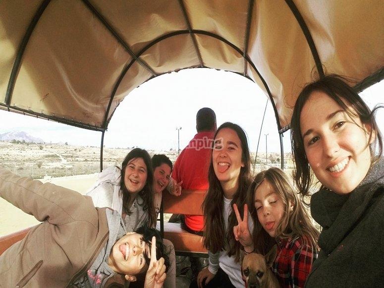 Excursion en carruaje
