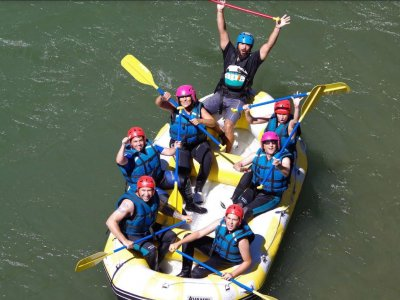 Rafting for bachelor party in Ávila