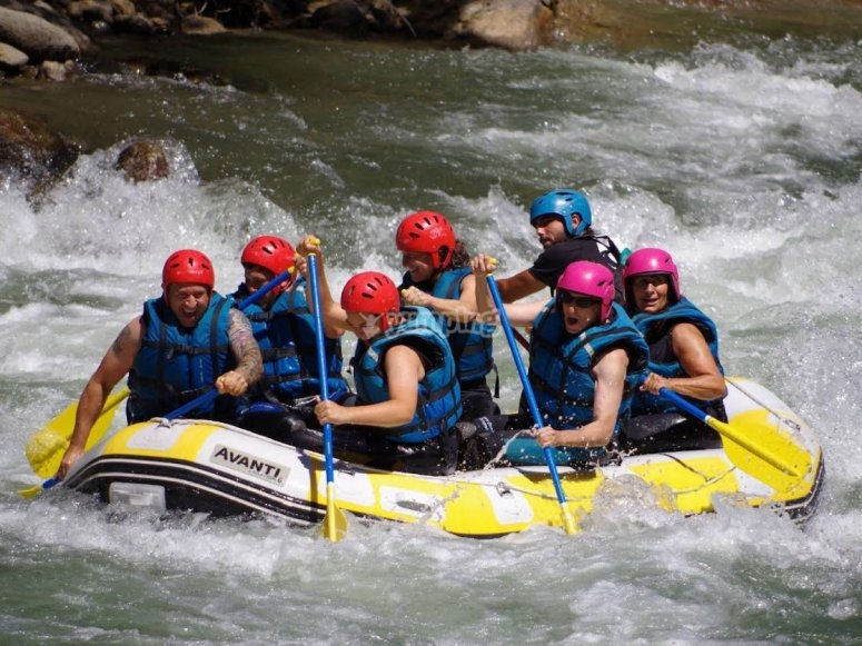 Excursion fluvial en la Sierra de Gredos