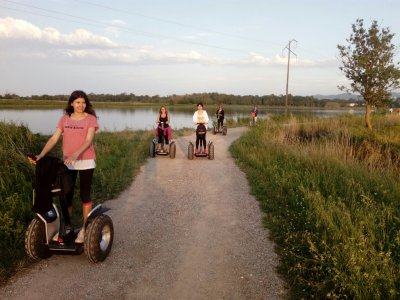 1-hour segway tour in Pals