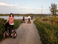 Paseo en segway por los arrozales de Pals de 1h
