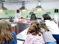 Laboratorio di cucina in inglese