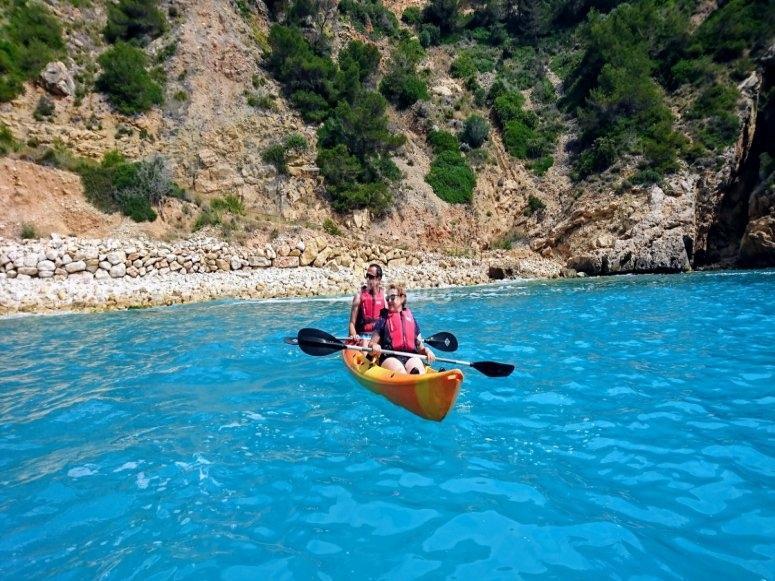 Kayak in Javea