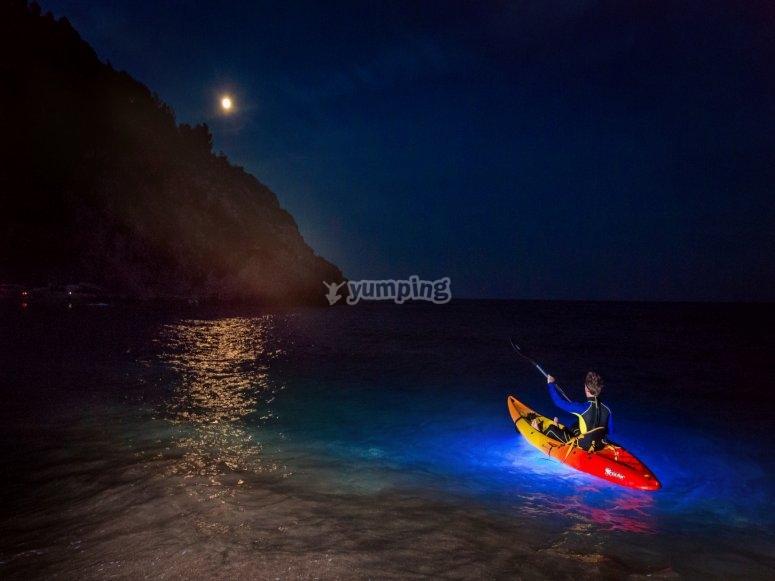 Navegando de noche