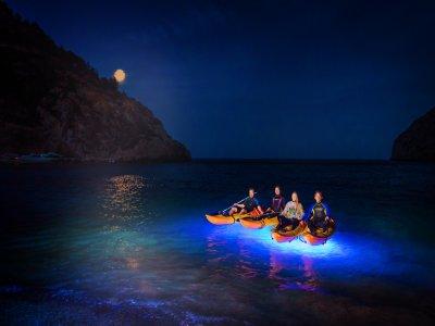 Ruta nocturna en kayak por Jávea
