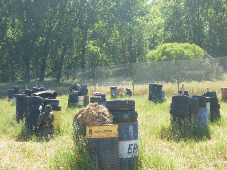 Paintball drums and tires