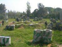 Campo de painball en Utrera.