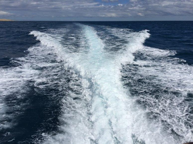 Navegando por el Oceano Atlantico