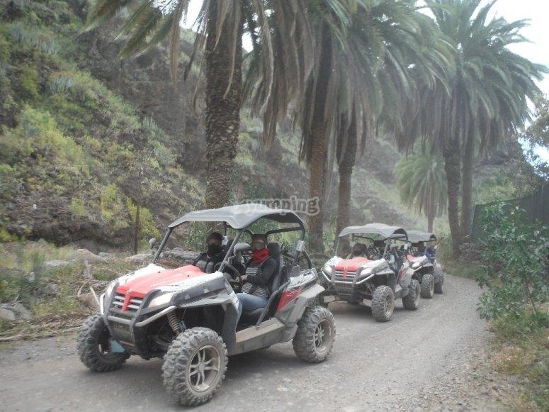 Vehiculos para correr por tierra