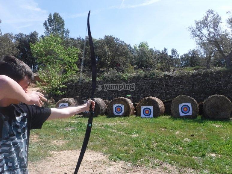 Actividad del tiro con arco