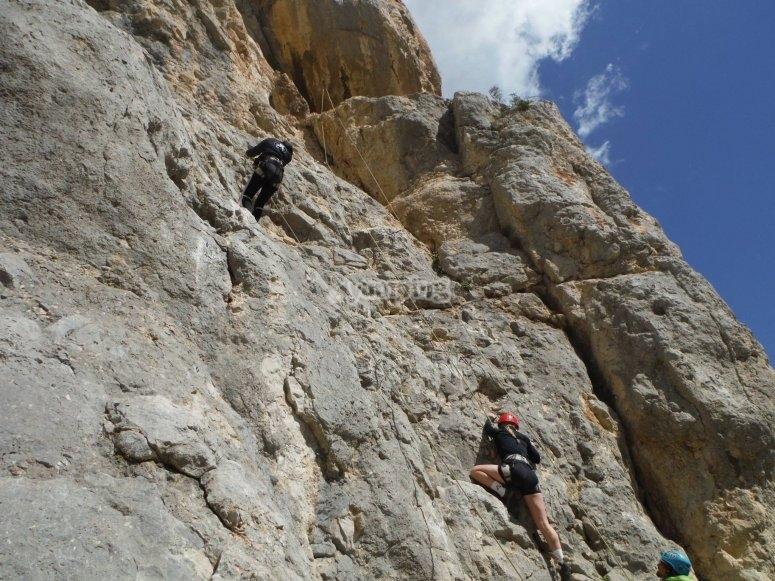 Escalando hacia la cima