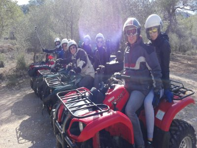 Tour in quad di 3 ore a Marina Baja