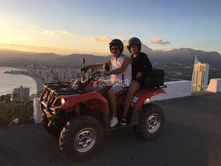 Turismo en pareja por Benidorm