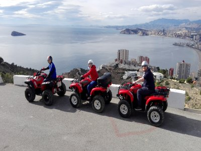 Tour guidato di 1 ora in quad attraverso la Sierra Helada