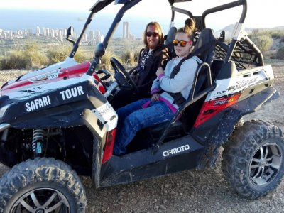 Two-seater buggy mountains Sierra Benidorm 1 hour