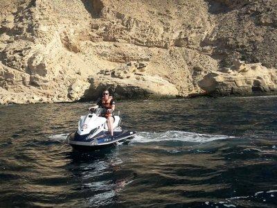 Excursión guiada en moto de agua en Benidorm 1 h