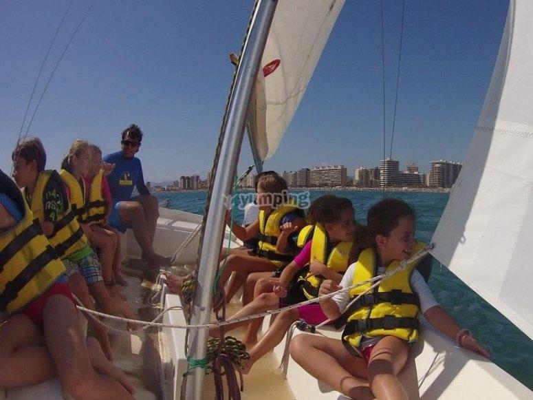 Disfrutando de la navegacion