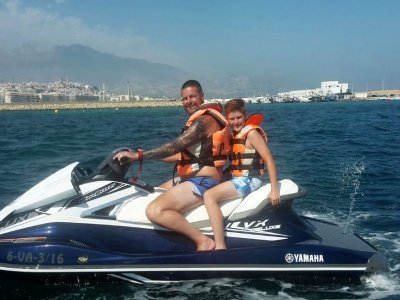 2-seater water scooter trip Benidorm 1 h 30 min