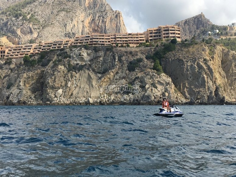 Getting to know the coasts of Benidorm
