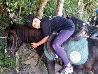 Mimando al equino