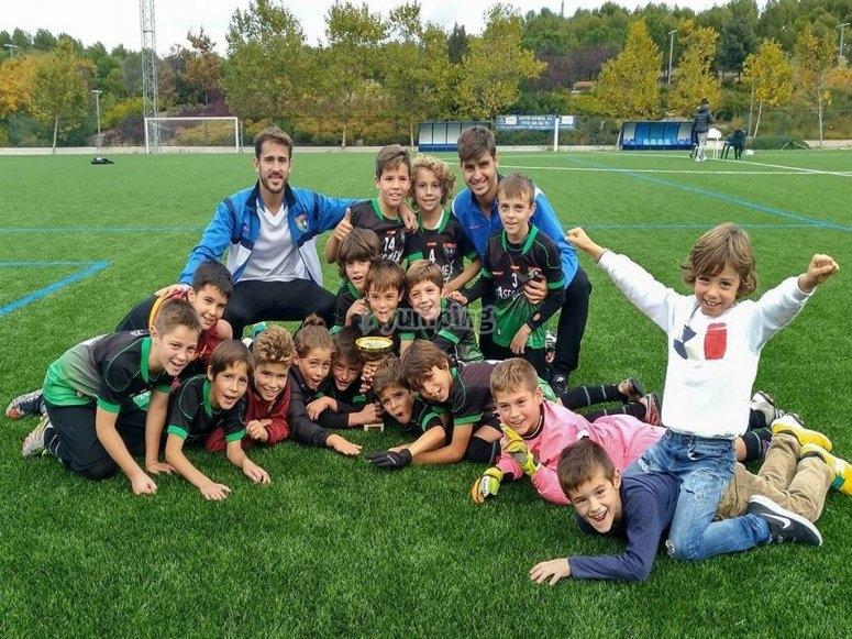 Ganadores de la copa de futbol