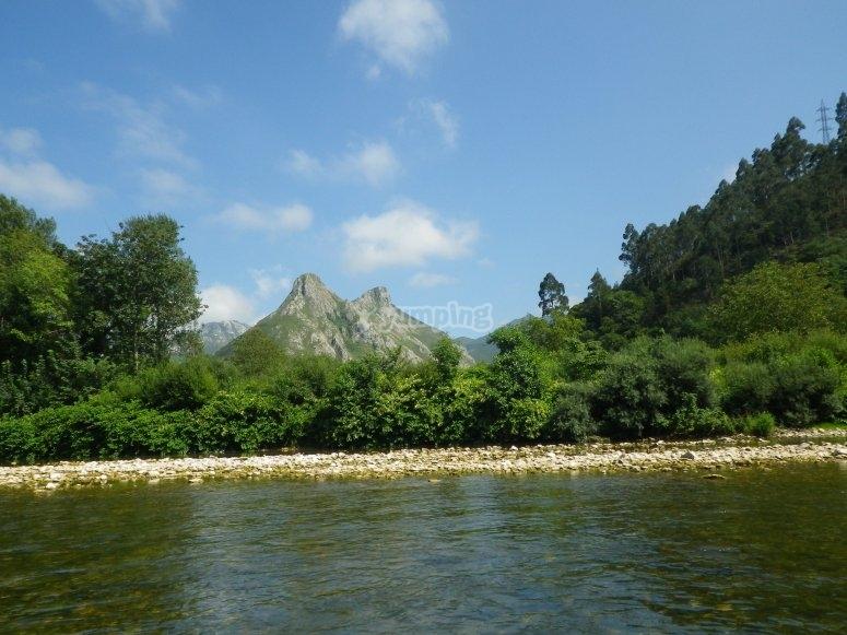 Rio que pasa por Leon y Asturias