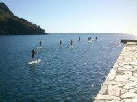 Kayak y paddle surf para coles en Port de la Selva