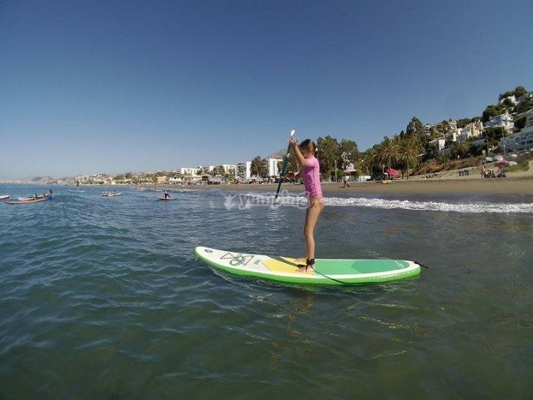 Paddle surf tambien para los peques