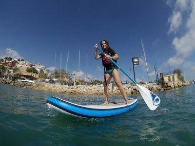 Curso de inicio al paddle surf en Málaga 1 h