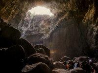 Impresionante cueva en Navarra
