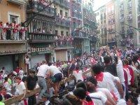 Sanfermines en Pamplona