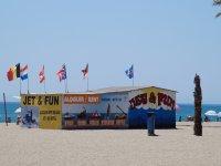 Nuestras instalaciones en la playa