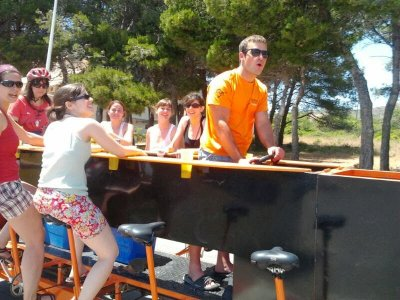Outing in bike-bar byTarragona