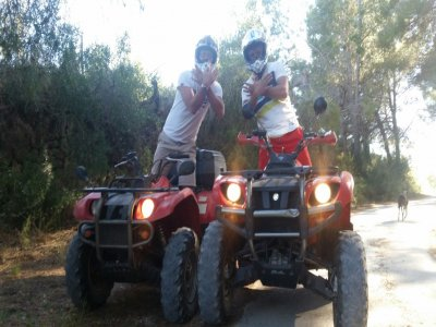 Tour in quad di Denia di 1 ora