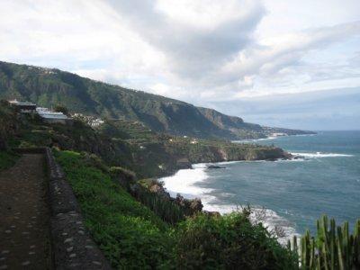 Ruta de senderismo en Puerto de la Cruz