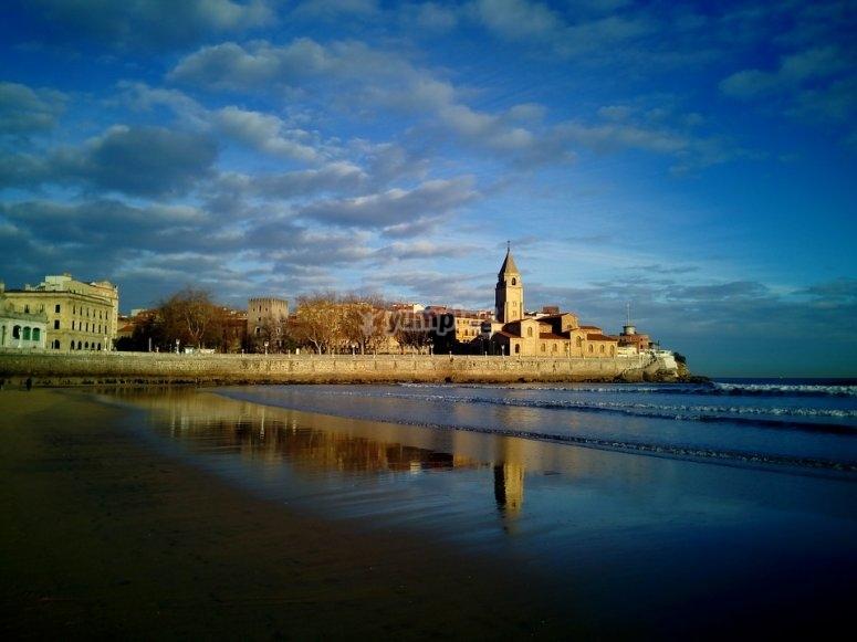 海滩的看法