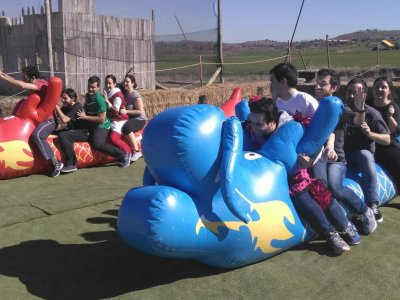 Gymkhana e kart in Algete con barbecue e open bar