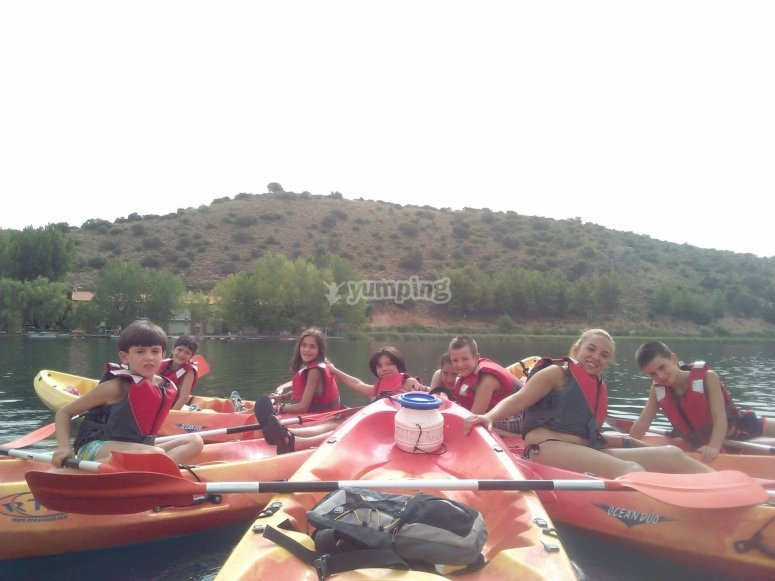 Escolares de excursion
