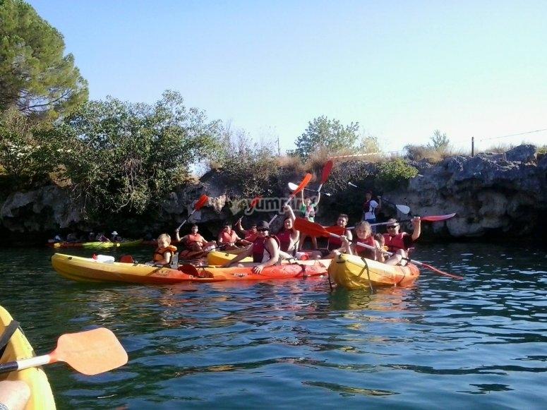 Kayak para todas las edades