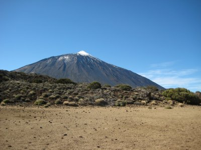 Walk in the Teide's National Park