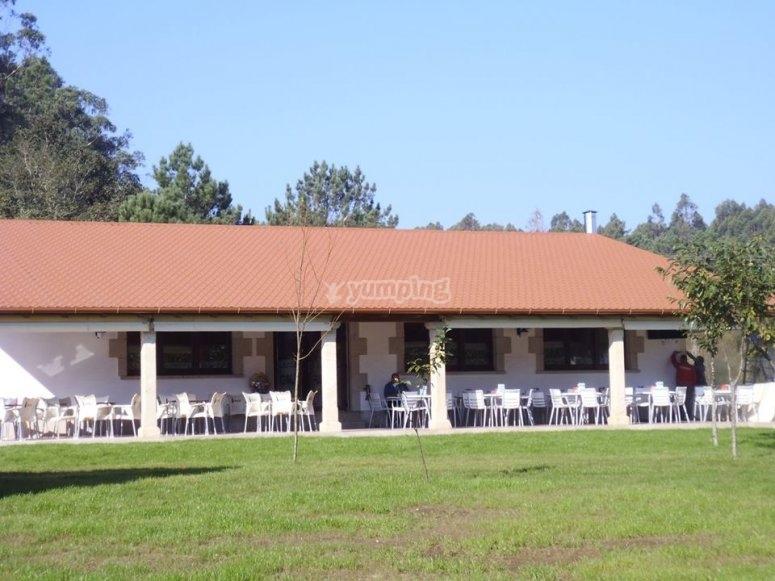 Espacio natural de ocio situado en Padron