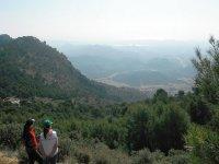 Ruta en las montanas