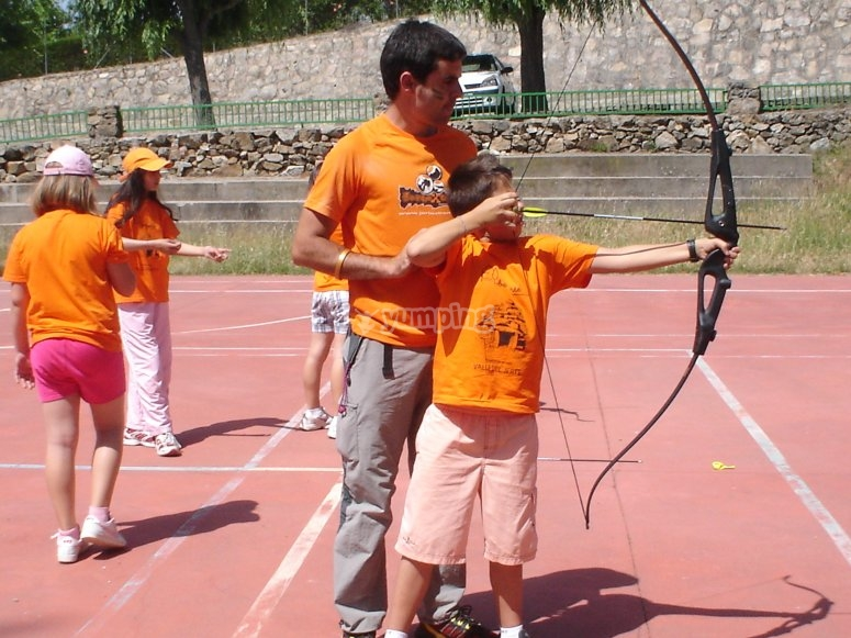 Archery in the rural center