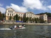 船只德乌斯托大学Pantalan RiverCheer