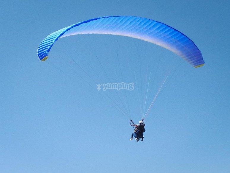 Volando sobre Los Giles