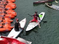 Paddle surf en Zarautz para despedidas de soltero