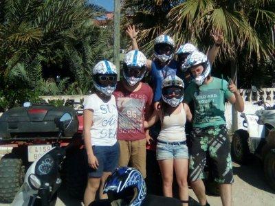 Moto acuática 1h y excursión en quad 1h Alicante