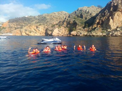 Excursión en moto acuática y ruta en quad Alicante